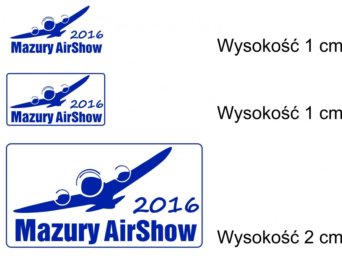 Okolicznościowa pieczątka Mazury AirShow 2016